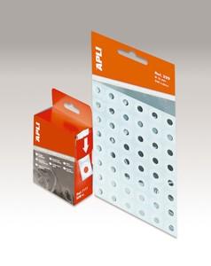APLI átlátszó lyukerősítő gyűrű, 13 mm átmérő, 240 db