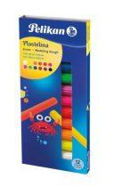 PELIKAN színes gyurma - 12 fluoreszkáló szín