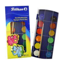 PELIKAN 12 színű vízfesték készlet + ecsettel