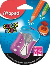 """MAPED """"Color'Peps"""" kétlyukú, tartályos hegyező (tompára hegyező)"""