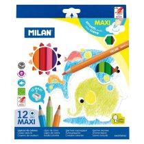 MILAN 261 vastag színesceruza 12 db-os készletben