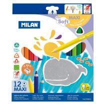 MILAN 961 Maxi 12 db-os színes ceruza készlet
