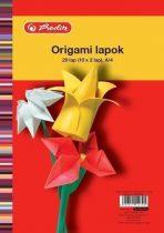 HERLITZ Origami lapok A/4-es / 20 ív