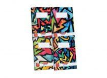 HERLITZ  87-32 Neon Art négyzethálós füzet A/4