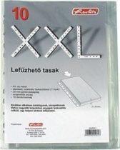 HERLITZ lefűzhető tasak A/4-es méret, XXL-es, 25 mm-es gerincvastagság - 10 db