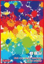 HERLITZ A/3-as színespapír blokk 20 ív