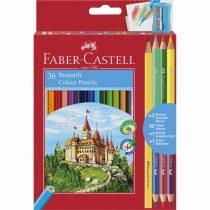 FABER-CASTELL 36+3 db-os színes ceruza készlet