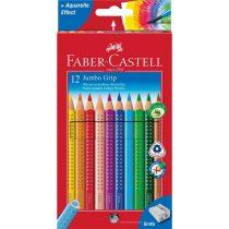 FABER-CASTELL GRIP 2001 12 db-os JUMBO színes ceruza készlet