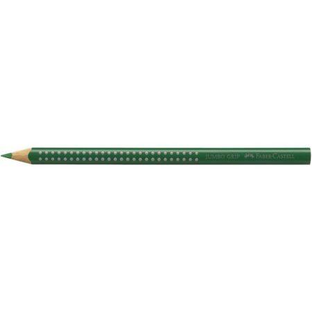 FABER-CASTELL színes ceruza GRIP 2001 - JUMBO SÖTÉTZÖLD