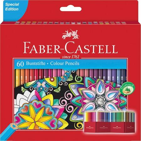 FABER-CASTELL 60 db-os színes ceruza készlet
