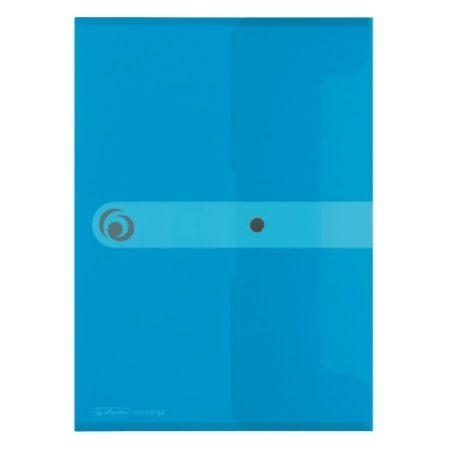 HERLITZ easy.orga műanyag dokumentum tartó - A/4 - kék