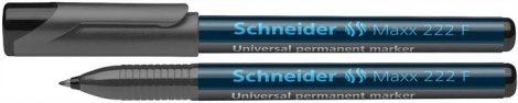 "SCHNEIDER ""Maxx 222 F"" fekete színű alkoholos marker / alkoholos filc"