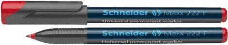 "SCHNEIDER ""Maxx 222 F"" piros színű alkoholos marker / alkoholos filc"