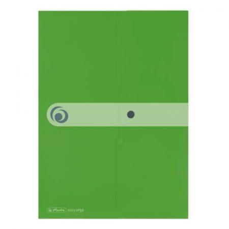 HERLITZ easy.orga műanyag dokumentum tartó - A/4 - zöld