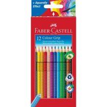 FABER-CASTELL GRIP 2001 12 db-os színes ceruza készlet