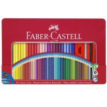 FABER-CASTELL GRIP 2001 48 db-os színes ceruza készlet fémdobozban
