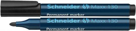 "SCHNEIDER ""Maxx 130"" fekete színű alkoholos marker / alkoholos filc"
