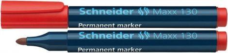 "SCHNEIDER ""Maxx 130"" piros színű alkoholos marker / alkoholos filc"