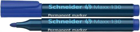 """SCHNEIDER """"Maxx 130"""" kék színű alkoholos marker / alkoholos filc"""