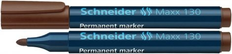 "SCHNEIDER ""Maxx 130"" barna színű alkoholos marker / alkoholos filc"