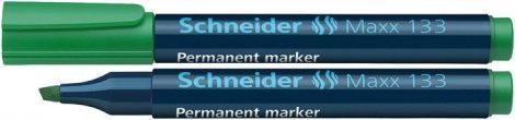 "SCHNEIDER ""Maxx 133"" zöld színű alkoholos marker / alkoholos filc"
