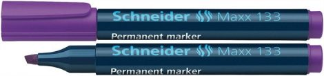 "SCHNEIDER ""Maxx 133"" lila színű alkoholos marker / alkoholos filc"
