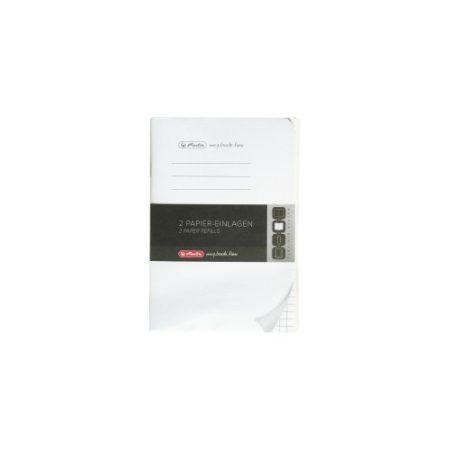 HERLITZ my.book flex füzet négyzethálós betét A/6