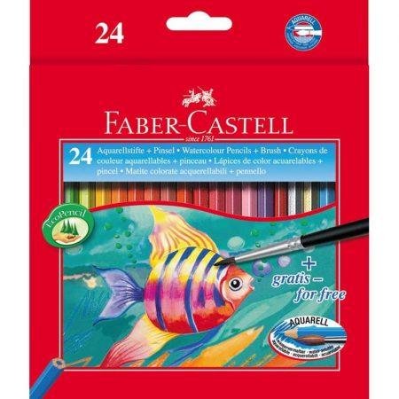 FABER-CASTELL 24 db-os színes aquarell ceruza készlet