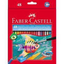 FABER-CASTELL 48 db-os színes aquarell ceruza készlet