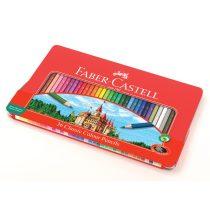 FABER-CASTELL 36 db-os színes ceruza készlet fémdobozban