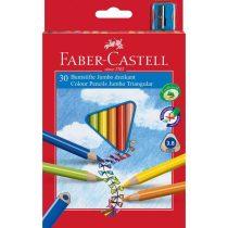FABER-CASTELL 30 db-os jumbo színes ceruza készlet