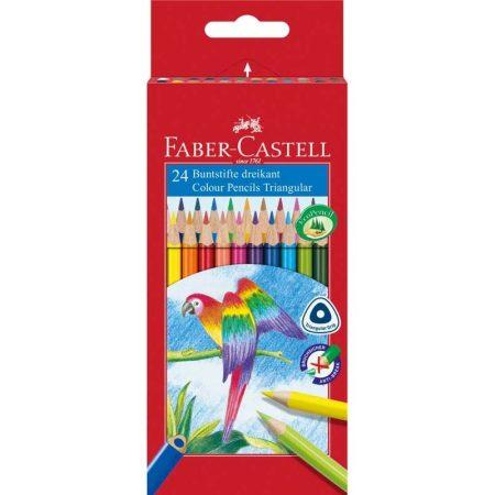 FABER-CASTELL 24 db-os színes ceruza készlet