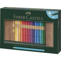 FABER-CASTELL ALBRECHT DÜRER 30 db-os akvarell színes ceruza készlet tekercses tolltartóban
