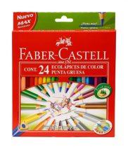 FABER-CASTELL 24 db-os ECO színes ceruza készlet