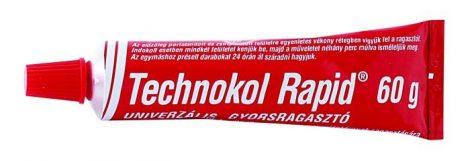 TECHNOKOL Rapid (piros) folyékony ragasztó 60 g