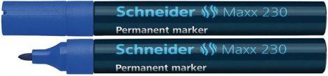 """SCHNEIDER """"Maxx 230"""" kék színű alkoholos marker / alkoholos filc"""
