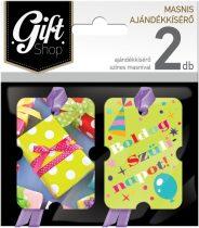 LIZZYCARD M01 Masnis ajándékkísérő 2 db-os