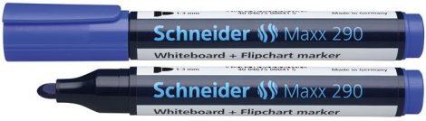 """SCHNEIDER """"Maxx 290"""" kék színű tábla- és flipchart marker / táblafilc"""