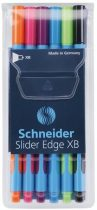 """SCHNEIDER """"Slider Edge XB"""" 6 db-os golyóstoll készlet - vegyes színek"""