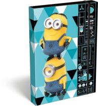 LIZZYCARD füzetbox Minions Gadget - A/4