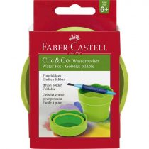 FABER-CASTELL Clic & Go ecsettál - zöld