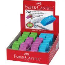 FABER-CASTELL radír - színes, speciális forma