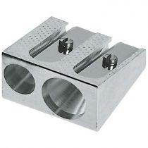 FABER-CASTELL hegyező - 2 lyukú fém
