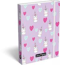 LIZZY CARD Lollipop Unicorn füzetbox A/5