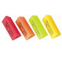 FABER-CASTELL háromszögletű radír neon színekben