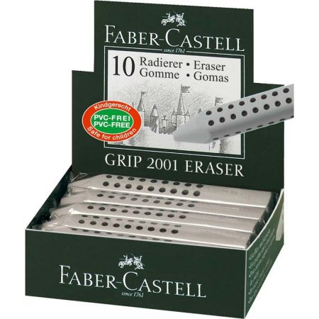 FABER-CASTELL radír - GRIP 2001 szürke