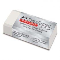FABER-CASTELL radír - fehér, forgácsmentes, kicsi