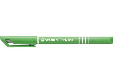 STABILO Sensor rugós hegyű tűfilc - VILÁGOSZÖLD