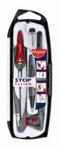 MAPED Stop System 5 részes körzőkészlet rögzíthető lábakkal