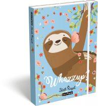 LIZZY CARD Lollipop Sloth Royal füzetbox A/5